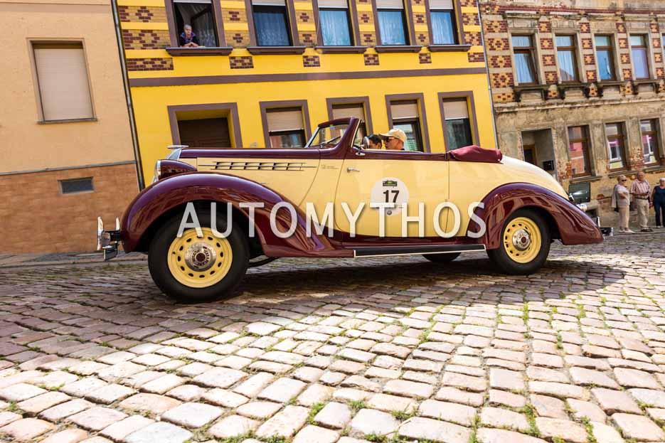Automythos | 15. Sachsen Classic 2017 | 17 | Thorsten Wappler & Michael Rotzsch | Hudson Terraplane