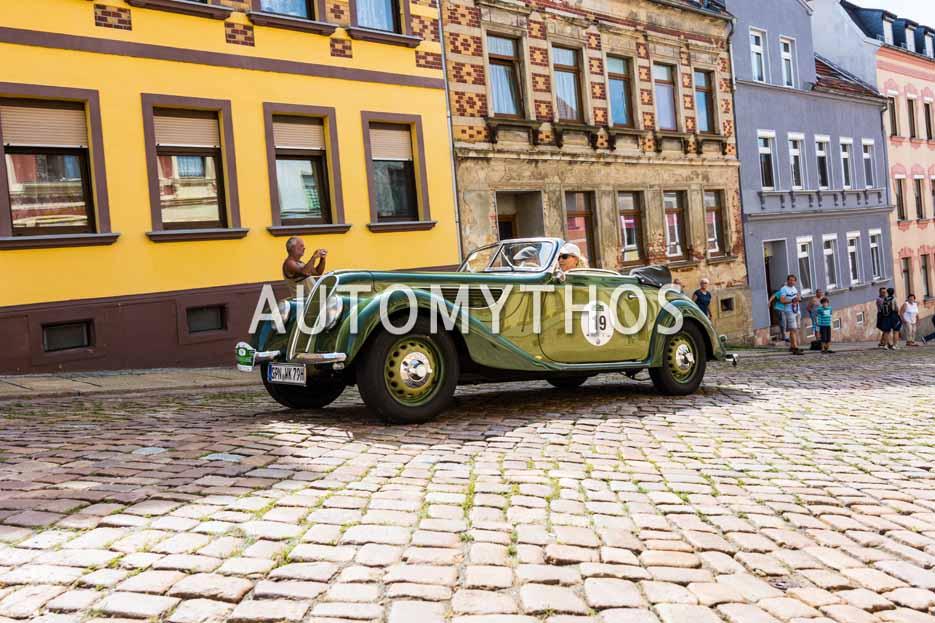 Automythos | 15. Sachsen Classic 2017 | 19 | Nadine Weber & Andreas Faust | BMW 327/28