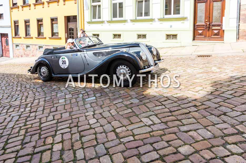 Automythos | 15. Sachsen Classic 2017 | 20 | Heiner Feldhaus & Lisa Feldhaus | BMW 327/28