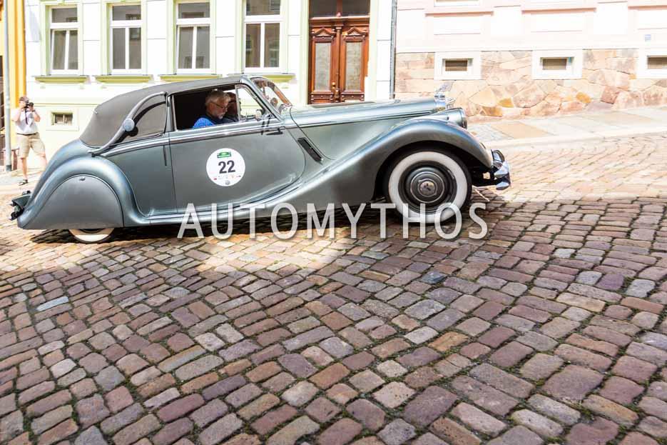 Automythos | 15. Sachsen Classic 2017 | 22 | Willi Meier & Ken Forbes | Jaguar Mk V