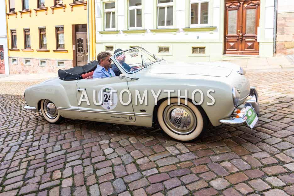 Automythos | 15. Sachsen Classic 2017 | 24 | Thomas Reiche & Johannes Hoffmann | Volkswagen Karmann-Ghia Cabriolet