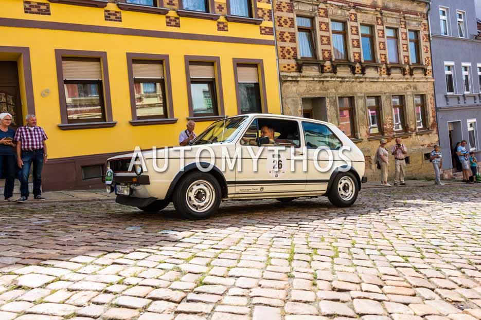 Automythos | 15. Sachsen Classic 2017 | 26 | Lars Dittert & Reiner Tunger | Volkswagen Golf I GTI