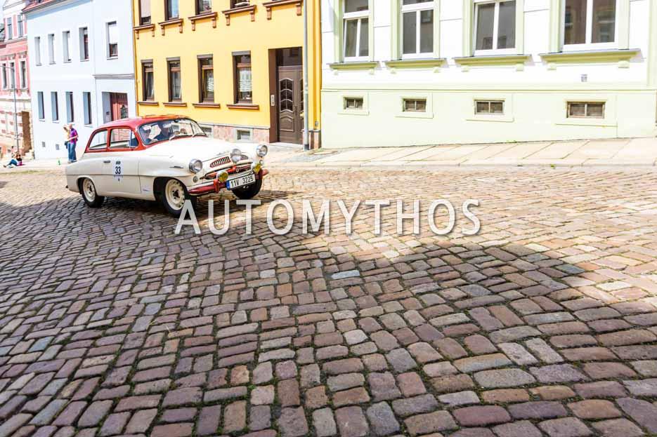 Automythos | 15. Sachsen Classic 2017 | 33 | Michal Borský & Marie Ryklová | Skoda 440 Spartak