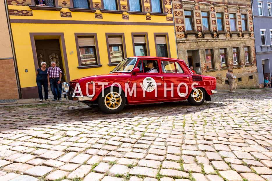 Automythos | 15. Sachsen Classic 2017 | 35 | Laura Ferriccioli & Veronika Klofcová | Skoda S 100 L Rally