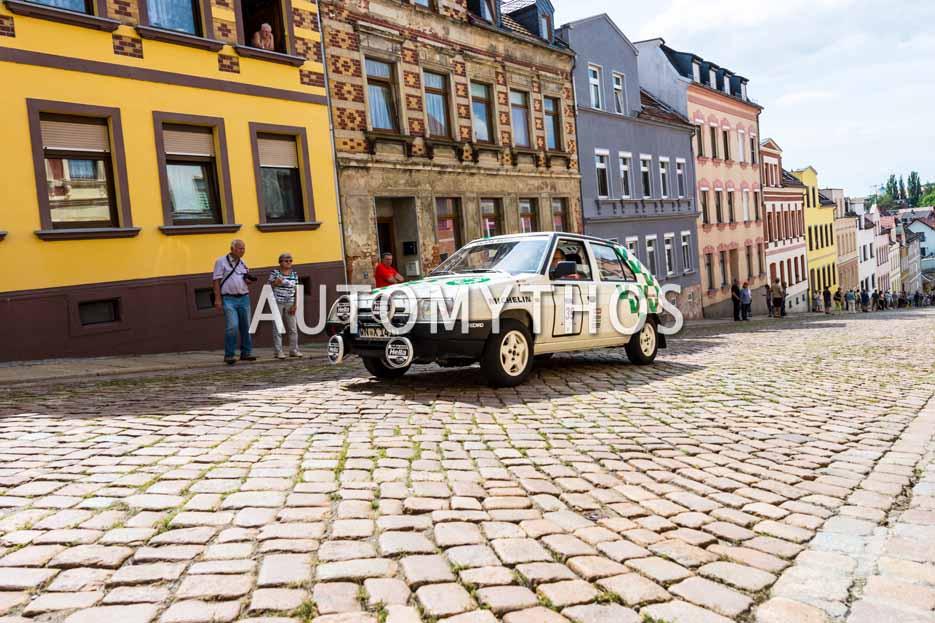 Automythos | 15. Sachsen Classic 2017 | 39 | Peter Göbel & Kai Klauder | Skoda Favorit Rallye Monte Carlo