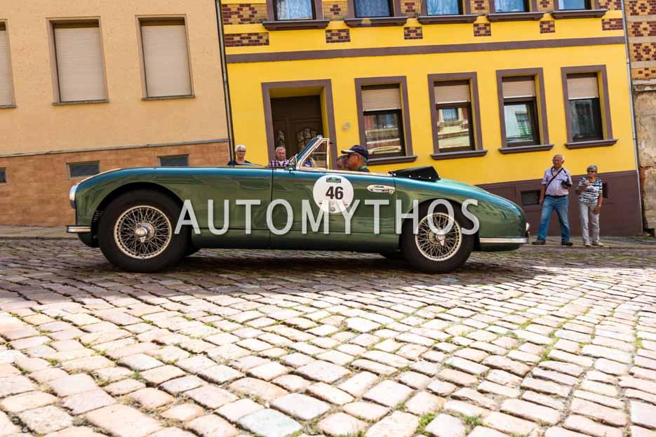 Automythos | 15. Sachsen Classic 2017 | 46 | Dr. Manfred Barié & Prof. Dr. Johannes Gerstlauer | Aston Martin DB2 DHC
