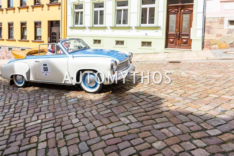 Automythos | 15. Sachsen Classic 2017 | 50 | Volkmar Kruspig & Rita Kruspig | Wartburg 311 Cabriolet
