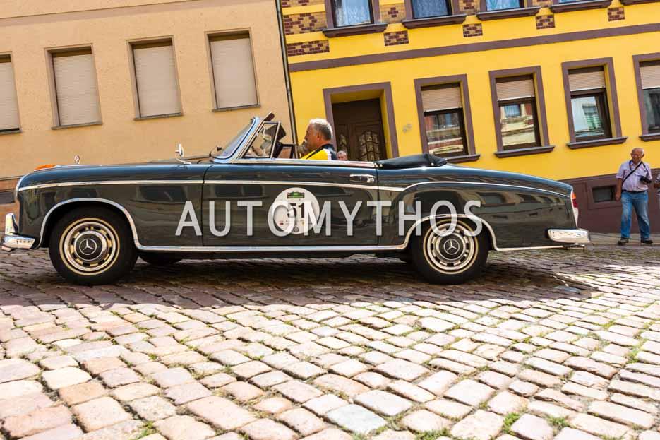 Automythos | 15. Sachsen Classic 2017 | 51 | Michael Gappel & Daniela Kensy-Gappe | Mercedes-Benz 220 S Cabriolet