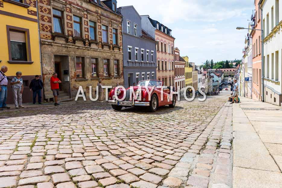 Automythos | 15. Sachsen Classic 2017 | 53 | Dr. Thomas Noth & Ursula Noth | Jaguar XK 140 DHC