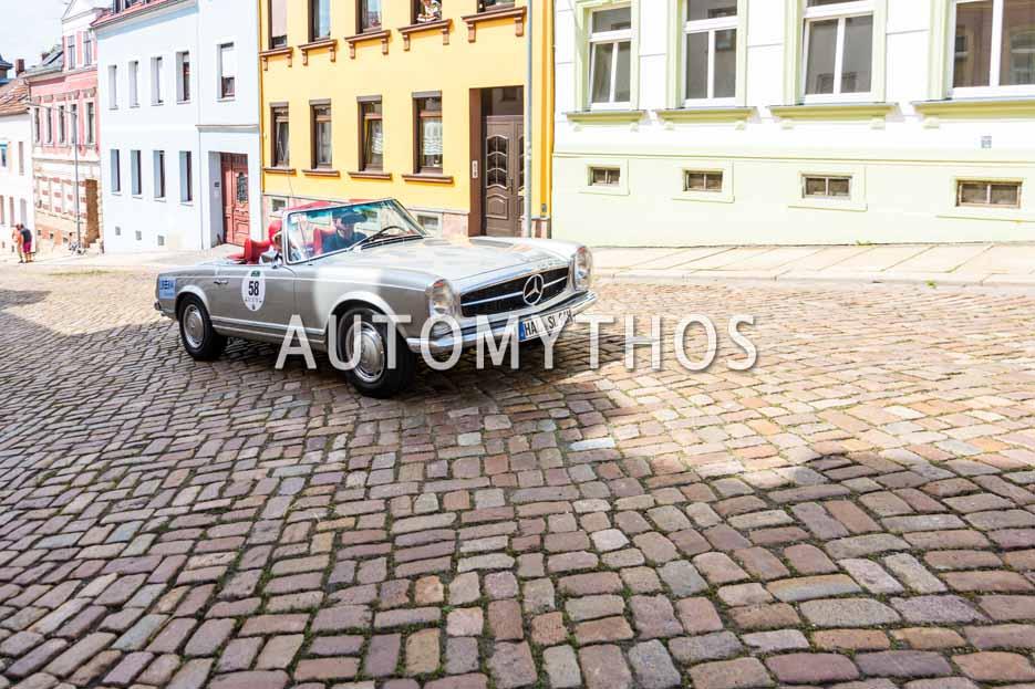 Automythos | 15. Sachsen Classic 2017 | 58 | Siegfried Rademacher & Irene Wenke | Mercedes-Benz 280 SL