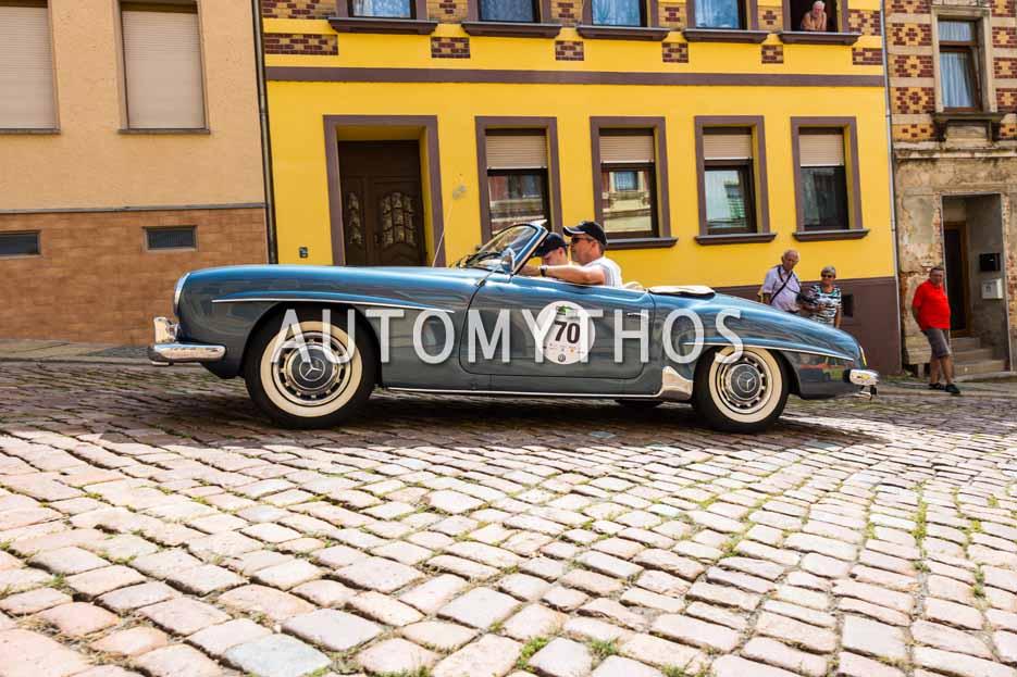 Automythos | 15. Sachsen Classic 2017 | 70 | Alexander Eschenbach & Philipp Eschenbach | Mercedes-Benz 190 SL