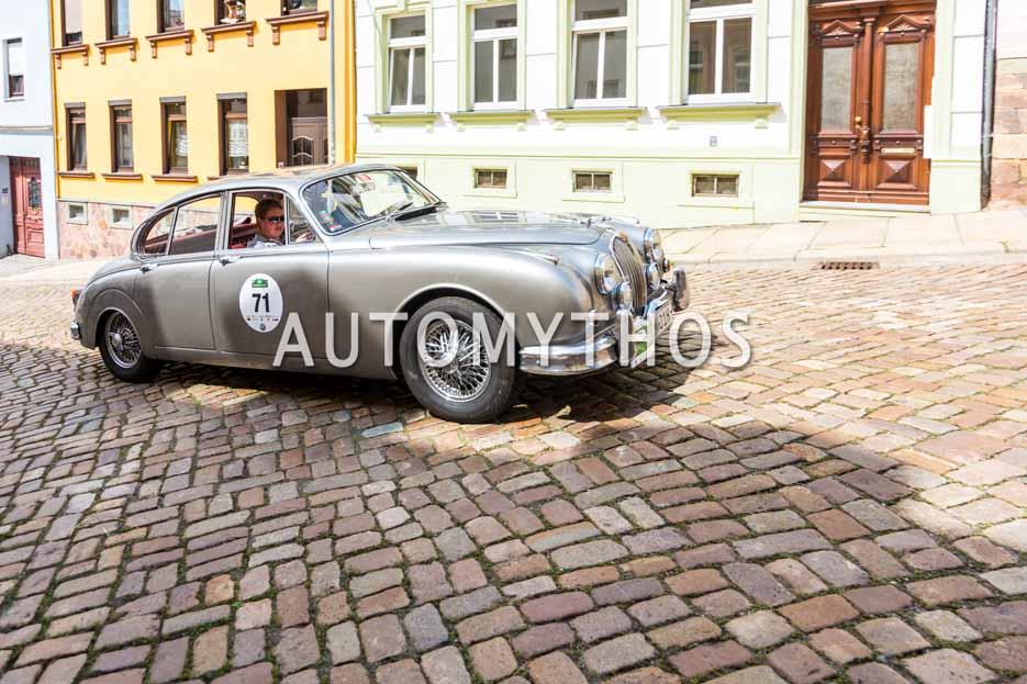 Automythos | 15. Sachsen Classic 2017 | 71 | Kay Fischer & Karina Fischer | Jaguar MKII