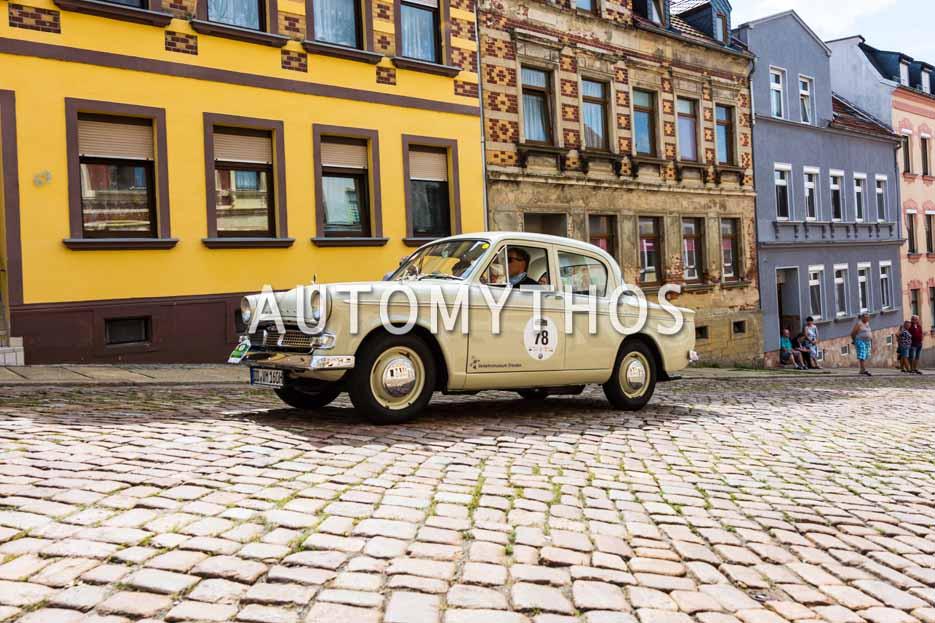 Automythos | 15. Sachsen Classic 2017 | 78 | Joachim Breuninger & Benjamin Otto | Hillman Minx III A