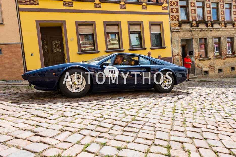 Automythos | 15. Sachsen Classic 2017 | 80 | Ulrich Böcker & Dr. Reinhard Hermes | Ferrari 308 GTB Vetroresina