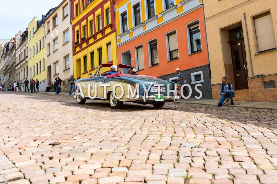 Automythos | 15. Sachsen Classic 2017 | 81 | Prof. Herbert Graus & Rolf Baron von Hohenhau | Mercedes-Benz 220 SE Cabriolet