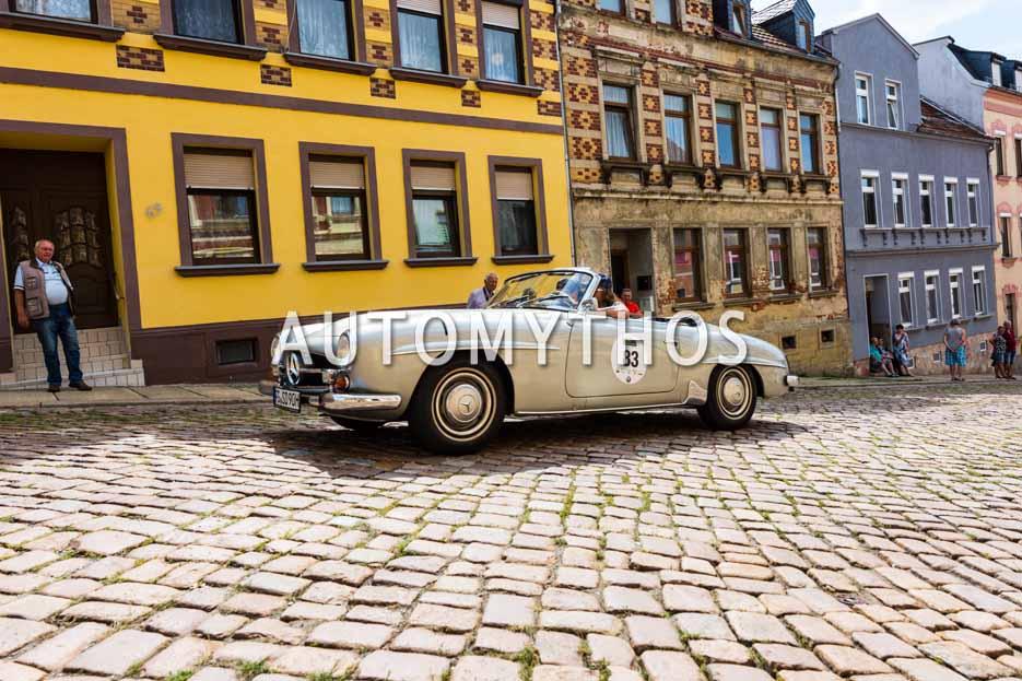 Automythos | 15. Sachsen Classic 2017 | 83 | Dirk Sittner & Alexander Utz | Mercedes-Benz 190 SL