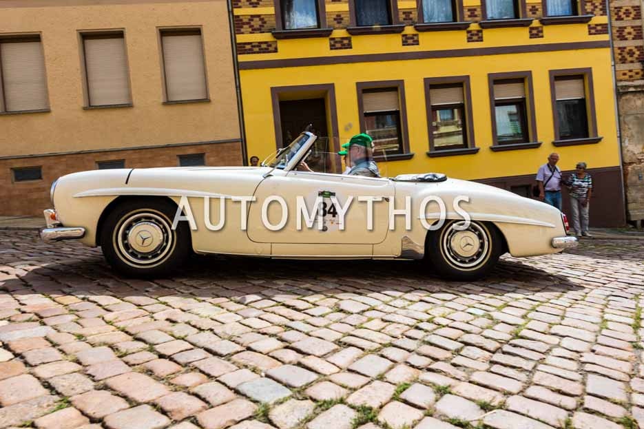 Automythos | 15. Sachsen Classic 2017 | 84 | Dieter Richter & Ricarda Brühl | Mercedes-Benz 190 SL