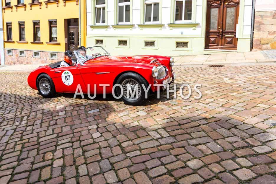 Automythos | 15. Sachsen Classic 2017 | 87 | Dr. Michael Weber & Ursula Weber | Austin-Healey 3000 MK II