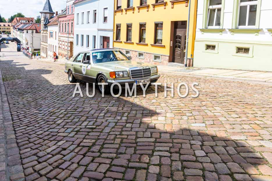 Automythos | 15. Sachsen Classic 2017 | 115 | Wolfgang Eggenweiler & Lavinia-Marie Thomas | Mercedes-Benz 280 SE