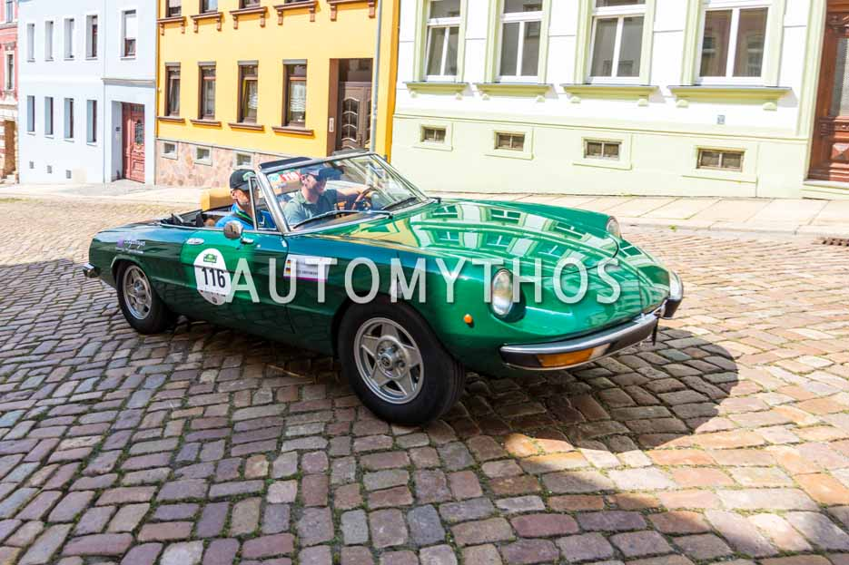 Automythos | 15. Sachsen Classic 2017 | 116 | Wolfgang Kautnik & Luis Obrowsky | Alfa Romeo 2000 Spider Veloce