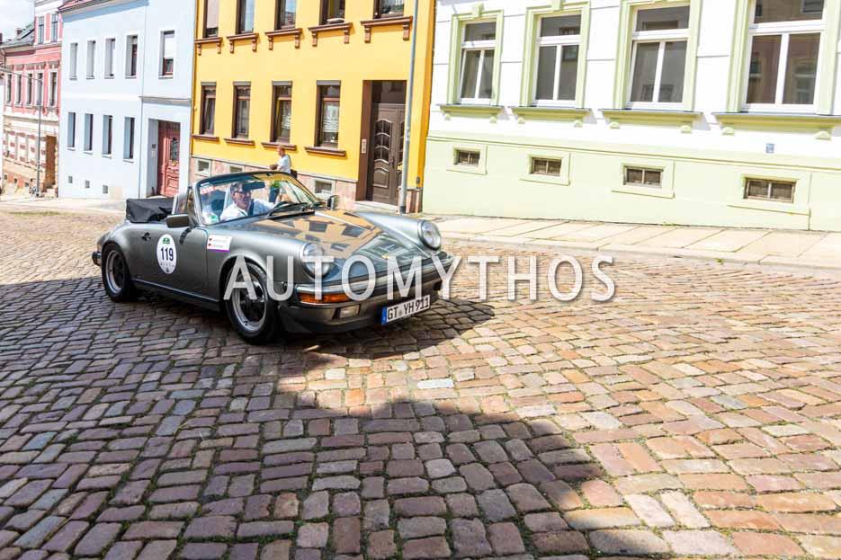 Automythos | 15. Sachsen Classic 2017 | 119 | Johannes Steiner & Silvia Steiner | Porsche 911 Carrera Cabrio 3.2