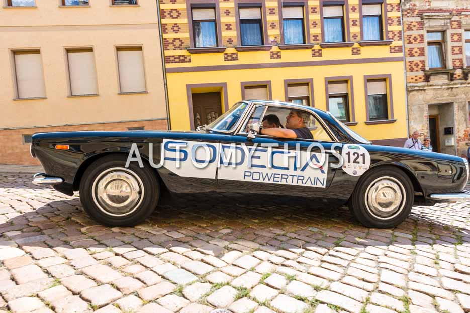 Automythos | 15. Sachsen Classic 2017 | 121 | Hans Schlickum & Marcus Frenzel | Lancia Flaminia Touring