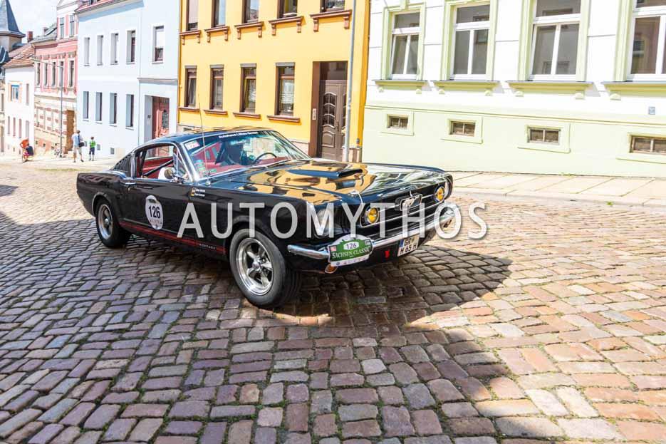 Automythos | 15. Sachsen Classic 2017 | 126 | Hagen Kaufmann & Günter Vallentin | Ford Mustang Fastback