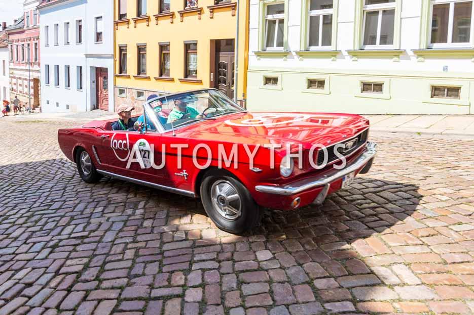 Automythos | 15. Sachsen Classic 2017 | 127 | Carsten Möller & André Preiß | Ford Mustang Convertible
