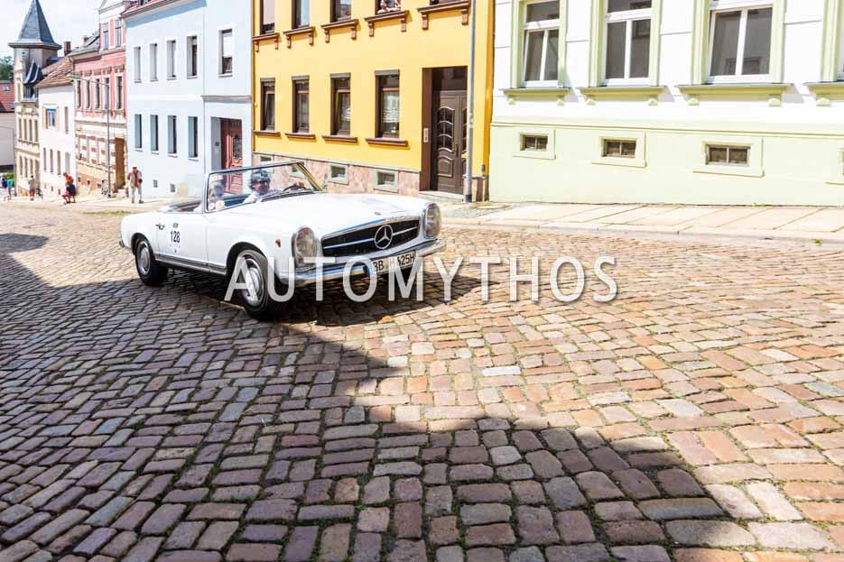 Automythos | 15. Sachsen Classic 2017 | 128 | Michael Rath & Manuela Rath | Mercedes-Benz 230 SL
