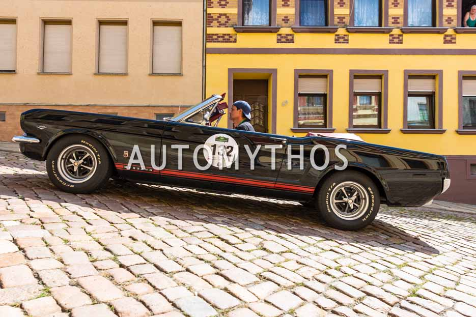 Automythos | 15. Sachsen Classic 2017 | 132 | Thilo Mühle & Sven Schneider | Ford Mustang GT Convertible