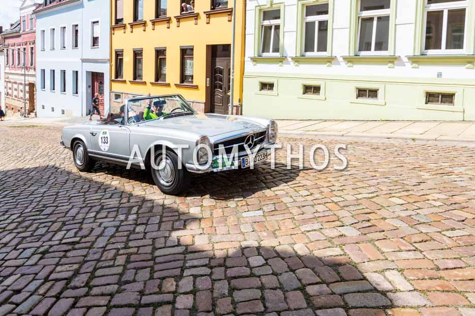 Automythos | 15. Sachsen Classic 2017 | 133 | Klaus Mayer & Ulf Walpuski | Mercedes-Benz 280 SL