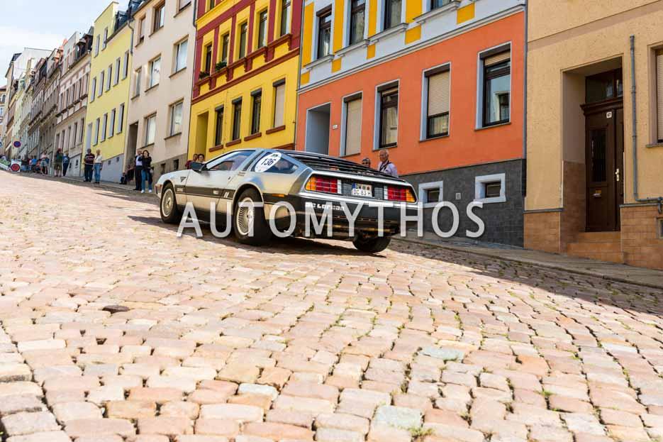 Automythos | 15. Sachsen Classic 2017 | 136 | Markus Hendel & Christoph Herbrig | DeLorean DMC 12