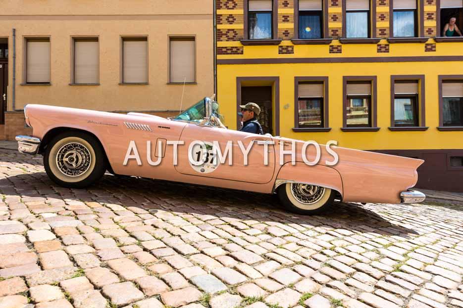 Automythos | 15. Sachsen Classic 2017 | 137 | Ronald Herbrig & David Dürr | Ford Thunderbird