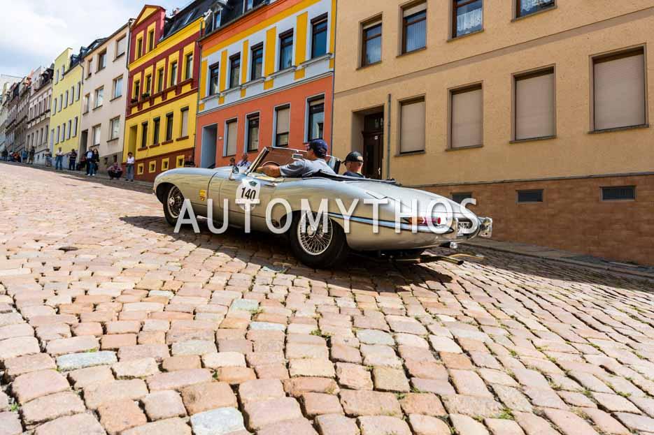 Automythos | 15. Sachsen Classic 2017 | 140 | Hans-Jürgen Daffner & Jörg Keichel | Jaguar E-Type Roadster