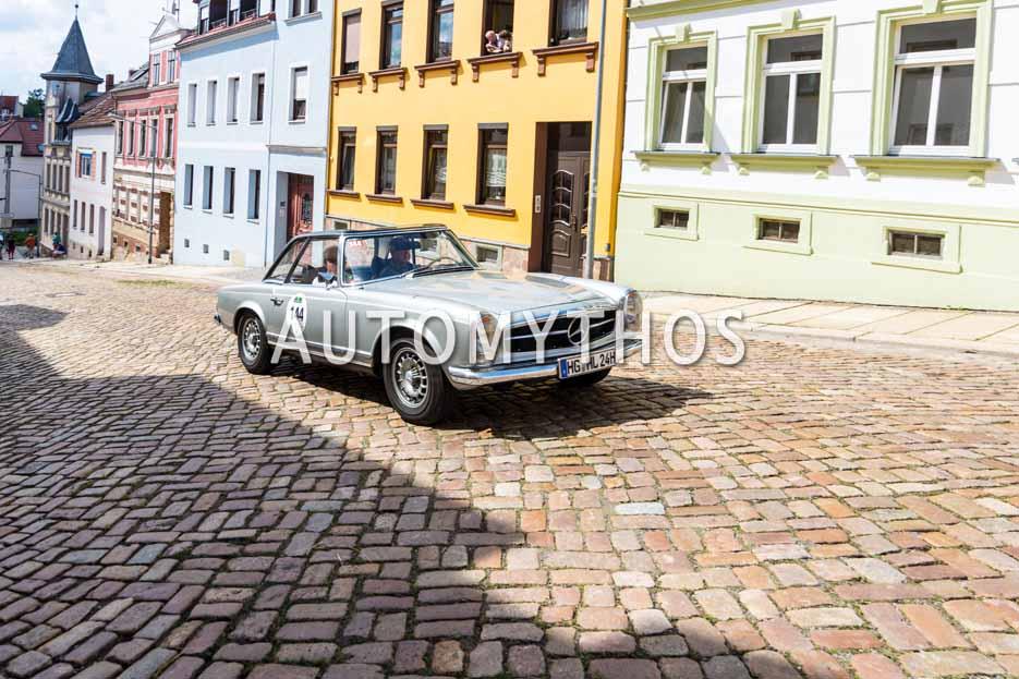 Automythos | 15. Sachsen Classic 2017 | 144 | Horst Langel & Dr. Gerhard Adler | Mercedes-Benz 280 SL