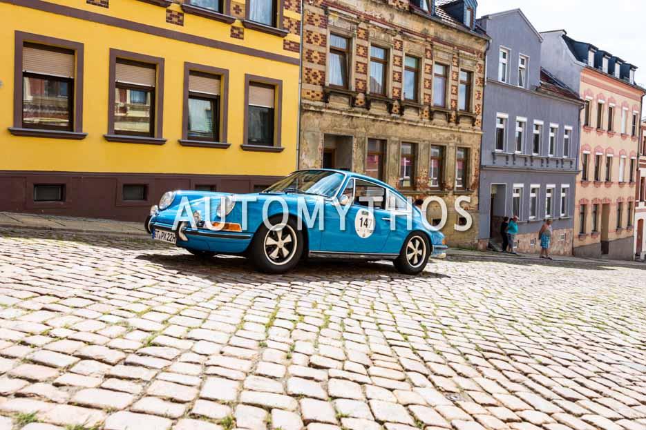 Automythos | 15. Sachsen Classic 2017 | 147 | Wolfgang Schneider & Elke Schneider | Porsche 911 T