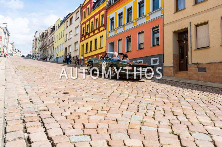 Automythos | 15. Sachsen Classic 2017 | 152 | Jürgen Hensing & Erti Beydilli | Triumph TR 6 PI