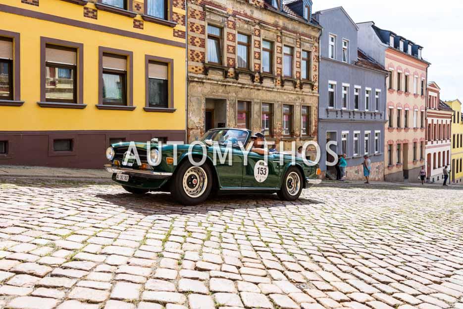 Automythos | 15. Sachsen Classic 2017 | 153 | Frank Wiedemeijer & Karin Berger | Triumph TR 6
