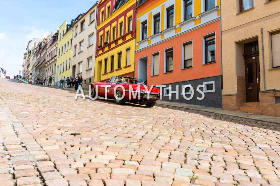Automythos | 15. Sachsen Classic 2017 | 166 | Bernd Schlossnickel & Regine Schlossnickel | Jaguar E-Type V 12 Roadster