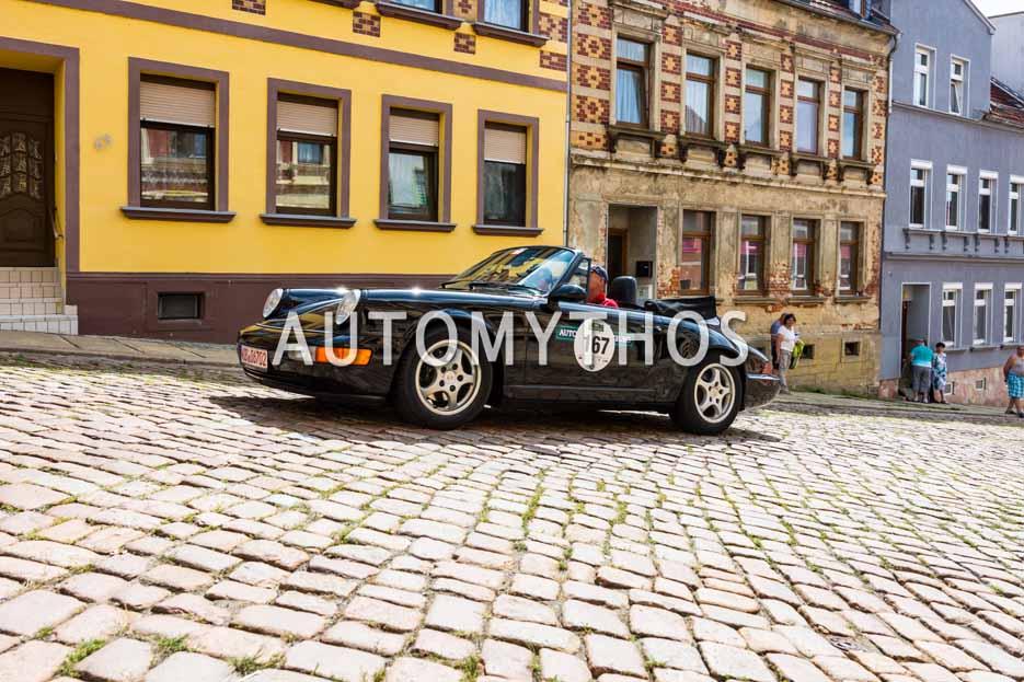 Automythos | 15. Sachsen Classic 2017 | 167 | Frank Loydl & Anke Loydl | Porsche 911 Carrera 964 Cabriolet