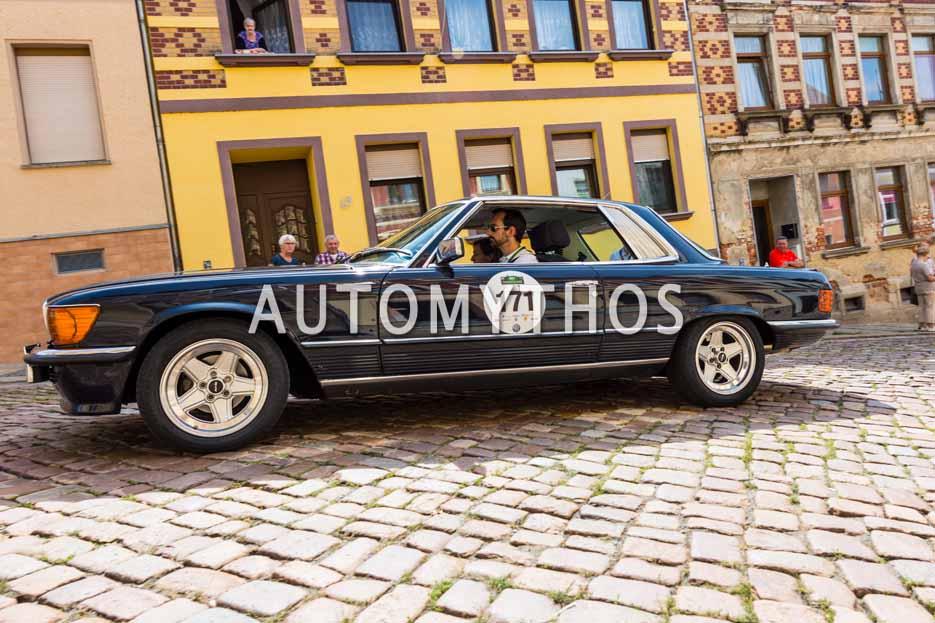 Automythos | 15. Sachsen Classic 2017 | 171 | Arne Fischer & Renate Freiling | Mercedes Benz 450 SLC 5.0 AMG