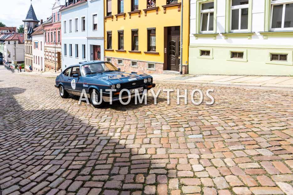 Automythos | 15. Sachsen Classic 2017 | 177 | Uwe Schmidt & André Fissel | Ford Capri 2.8 Injection