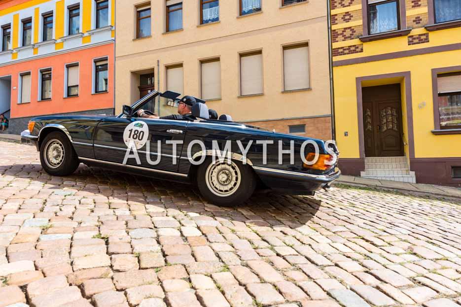 Automythos | 15. Sachsen Classic 2017 | 180 | Martin Krah & Kerstin Krah | Mercedes-Benz 280 SL