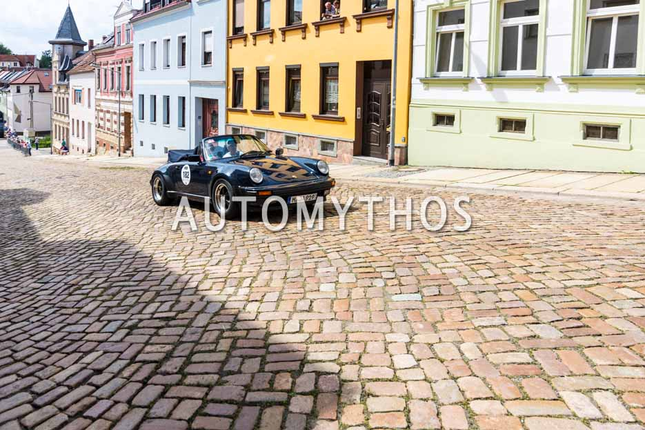 Automythos | 15. Sachsen Classic 2017 | 182 | Joachim Amrhein & Gabriele Amrhein | Porsche 911 Cabrio WTL