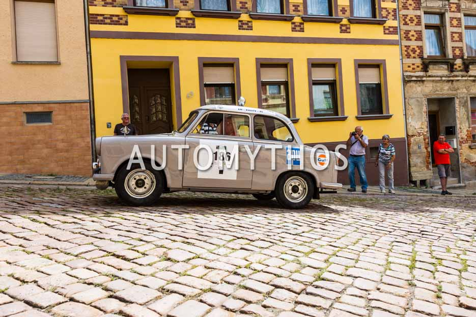 Automythos | 15. Sachsen Classic 2017 | 186 | Bernd Knote & Christian Meischner | Trabant P60 Limousine