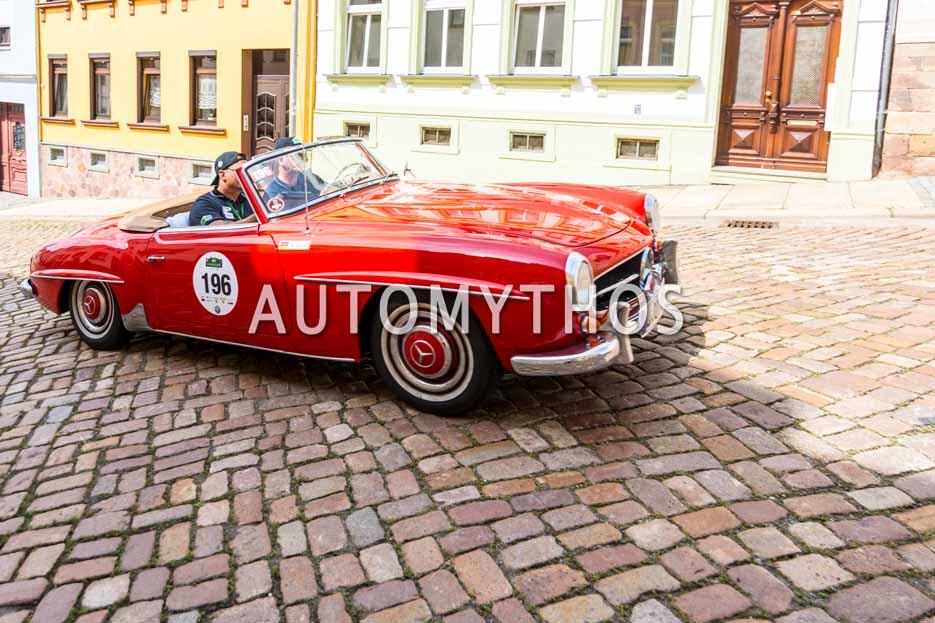 Automythos | 15. Sachsen Classic 2017 | 196 | Oliver Tkatzik & Matthias Gabler | Mercedes-Benz 190 SL