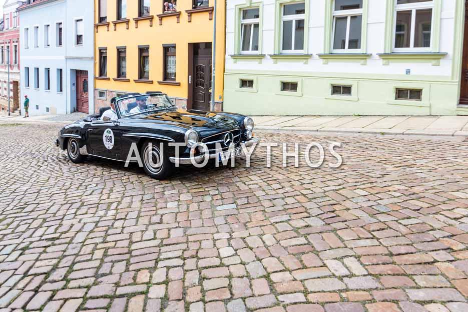 Automythos | 15. Sachsen Classic 2017 | 198 | Benedikt Mertens & Uwe Mertens | Mercedes-Benz 190 SL