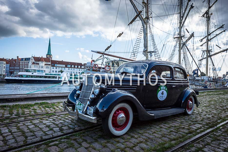 Automythos | 10. Hamburg Berlin Klassik 2017 | 4 | Friedemann Matthieu & Bernd Budi | Ford V8