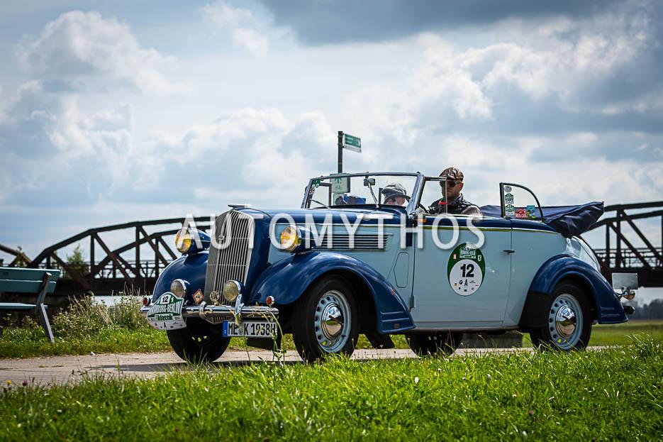 Automythos | 10. Hamburg Berlin Klassik 2017 | 12 | Christian Köppen & Gabriele Köppen | Opel Super 6