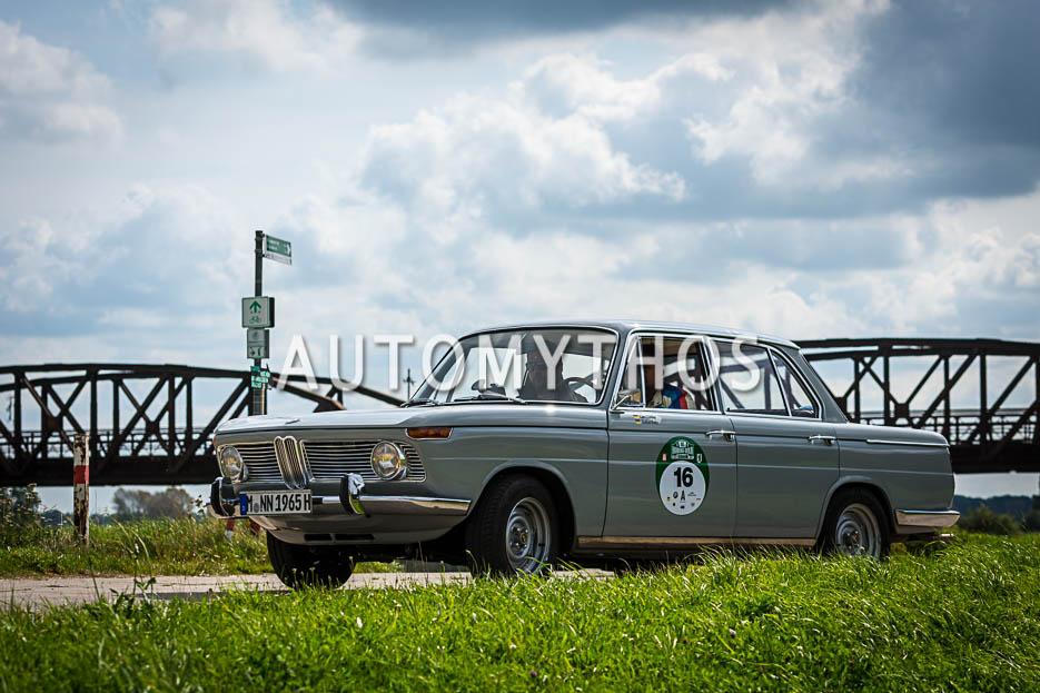 Automythos | 10. Hamburg Berlin Klassik 2017 | 16 | Lars Zühlke & Stefan Behr | BMW 1800 TI/SA